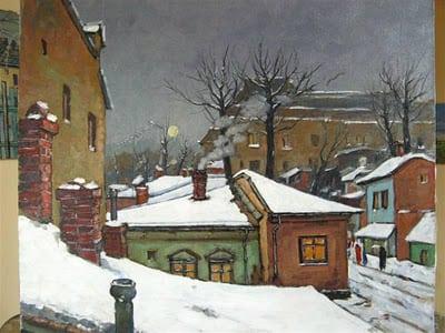 David Croitor - Iarna in Bucuresti - inserare