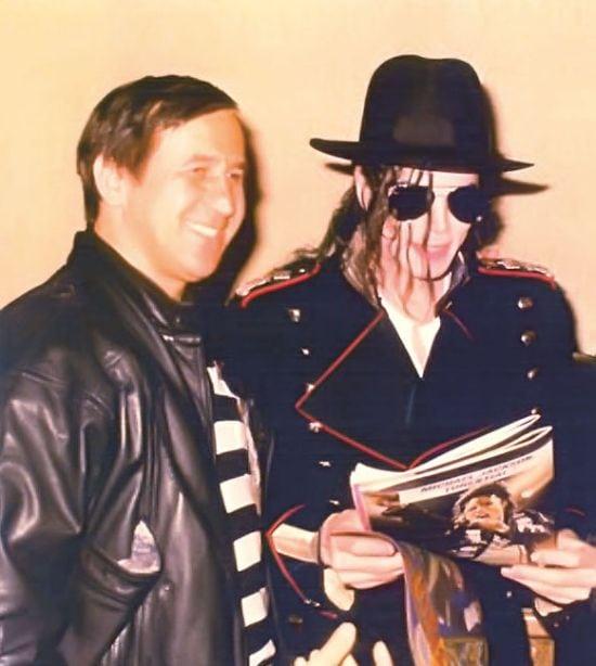 Cu Michael Jackson