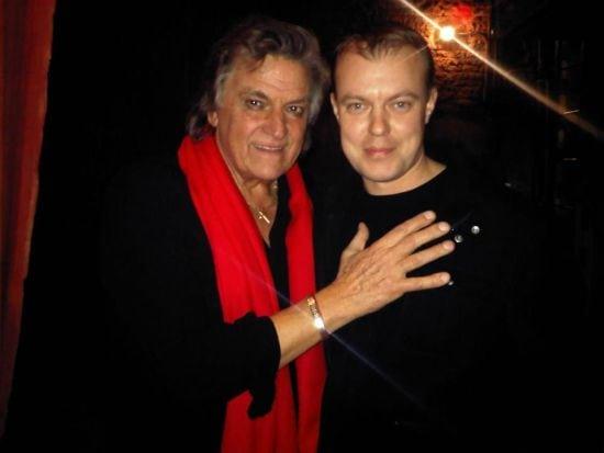 Cu actorul preferat, Florin Piersic