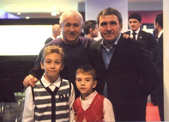George Mihaita, Gica Hagi, Andrei si Vlad Mihaita