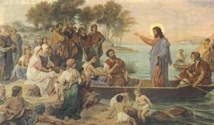Iisus la propovaduire