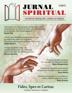 coperta jurnal spiritual - iun 2013