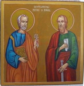 Petru si Paul - martiri