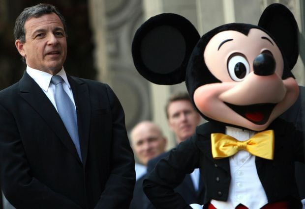 Bob Iger, President and CEO of The Walt