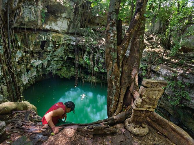FRUMUSEŢILE PĂMÂNTULUI. Ruinele scufundate ale civilizaţiei Maya | GALERIE FOTO