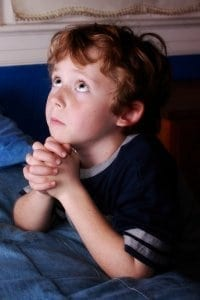 Praying Child