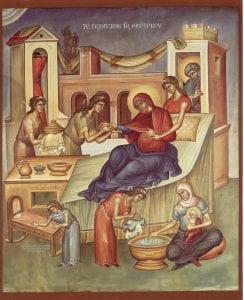 8 septembrie - Naşterea Maicii Domnului