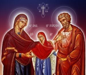 Părinţii Ioachim şi Ana
