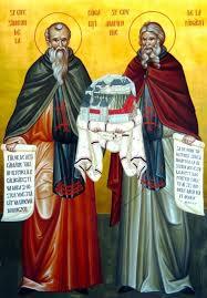 7 septembrie - Sfinţii Cuvioşi Simeon şi Amfilohie