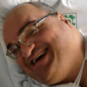 Paulo Machado, has lived in hospital for 45 years.
