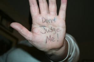 don`t judge me