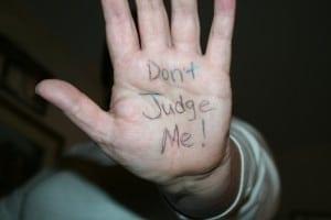 don`t judge me