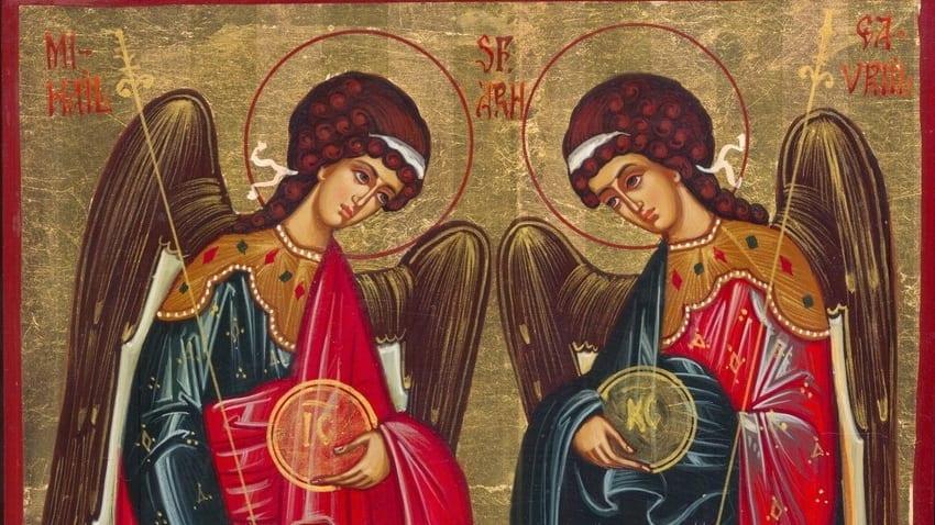 Acatistul Sfinților Arhangheli Mihail și Gavriil