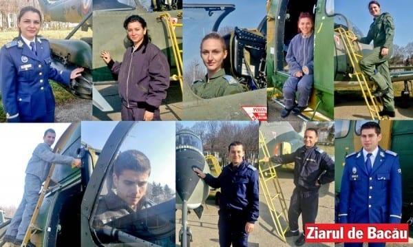 Aviație militară la bacau