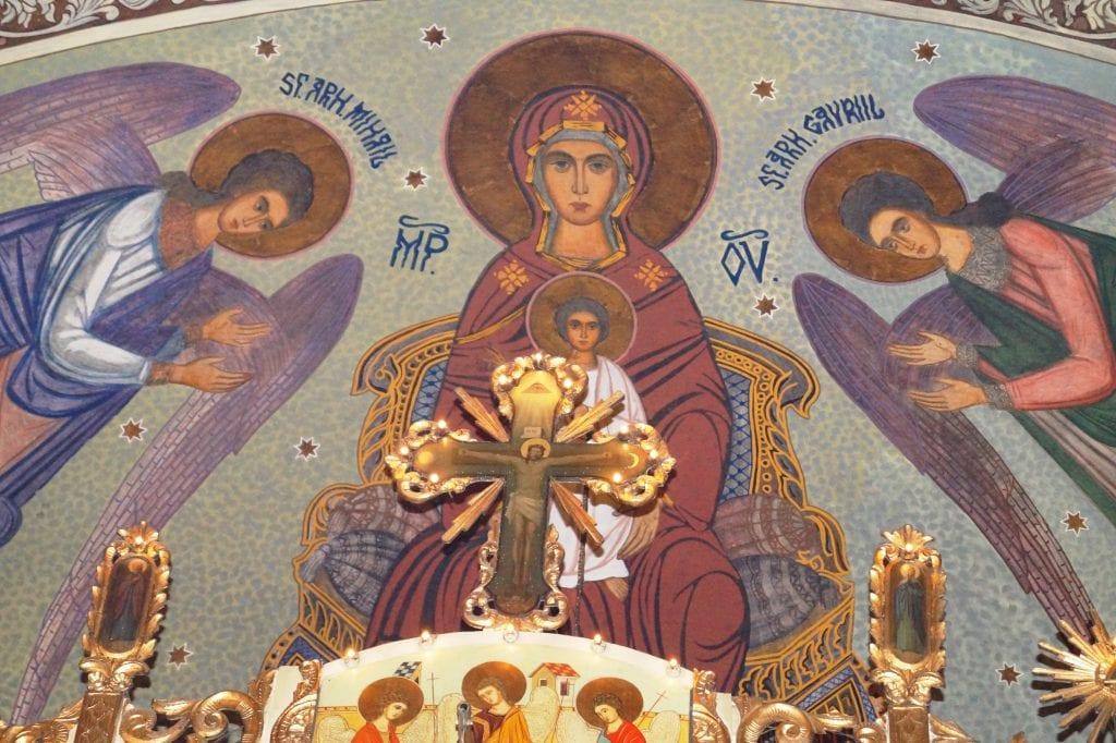 Sfinţii Arhangheli Mihail şi Gavriil savinesti