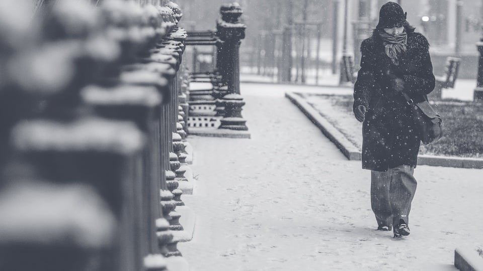 Pe timp de iarnă