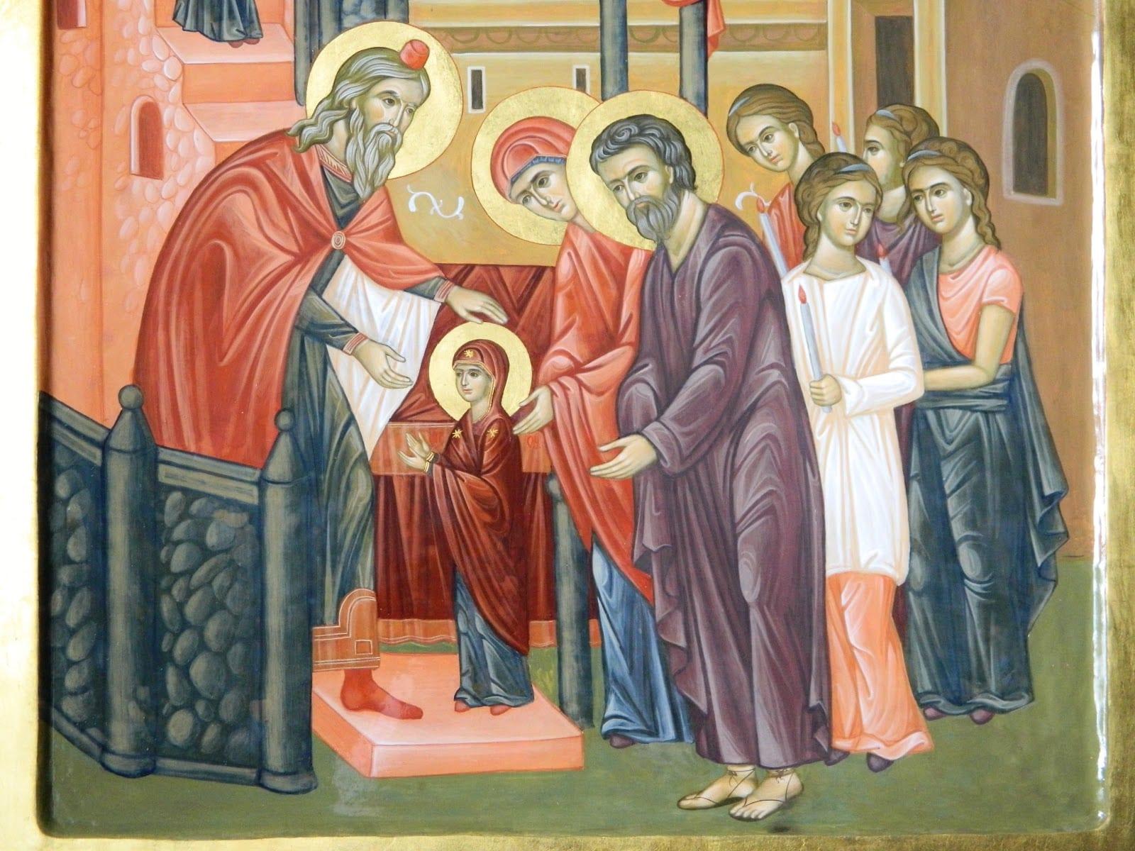 Intrarea în Biserica a Maicii Domnului