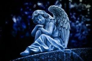 un înger