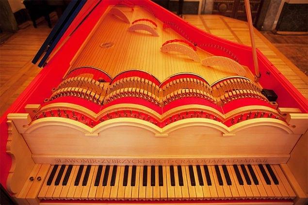 """instrument """"viola organista"""""""