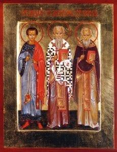 3 noiembrie-Sfinții Mucenici Achepsima, Iosif și Aitala
