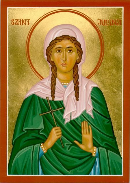 21 Decembrie. Pomenirea Sfintei Muceniţe Iuliana