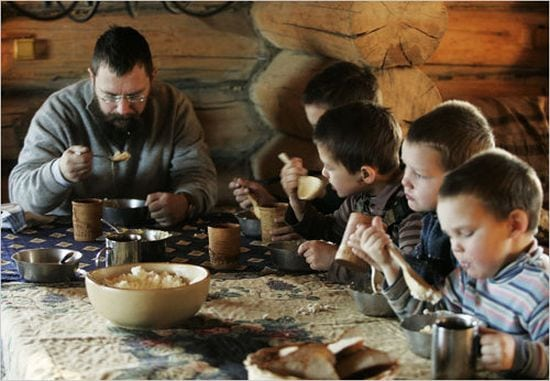 Cel mai bogat om al Rusiei trăieşte ca în Biblie