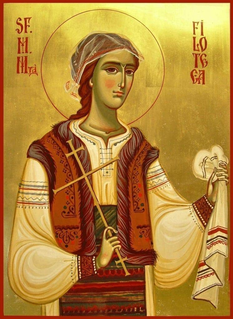7 Decembrie. Sfânta Muceniţă Filofteia de la Argeş