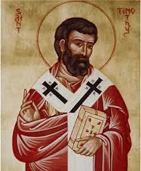 Sf Apostol Timotei- 22 Ianuarie