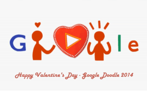 Ziua îndrăgostiţilor - google