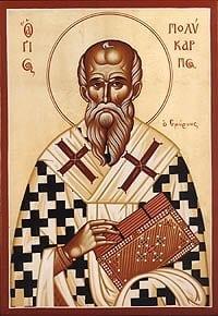 23 Februarie - Sfântul Policarp