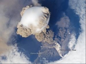 erupțiile vulcanice