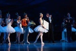 Bianca Fota, prim-balerina a Baletului National Roman