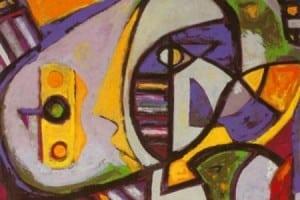 O colecție de tablouri și sculpturi ale actorului Anthony Quinn