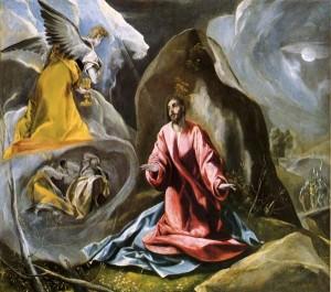 el greco - agonie in Gradina Gethsemane