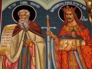 Daniil Sihastru si Stefan cel Mare