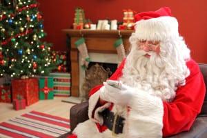 father-christmas-smartphone