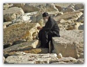 Calist monahul- ruga catre Maica Domnului