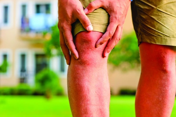 artroza acută a genunchiului 2-3 grade