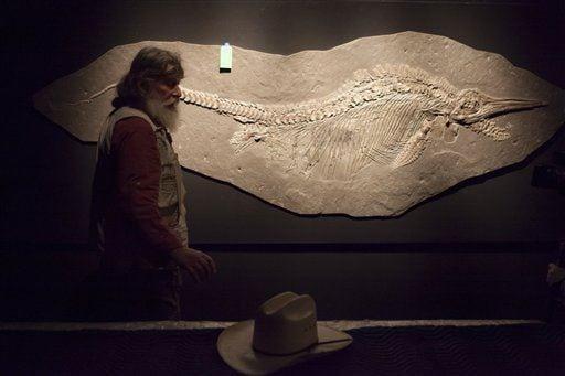 Ichthyosaur Robert Bakker