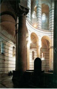 Interior baptistier