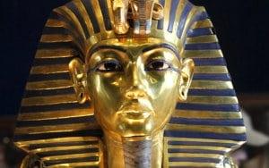 Masca funerară din aur a lui Tutankhamon