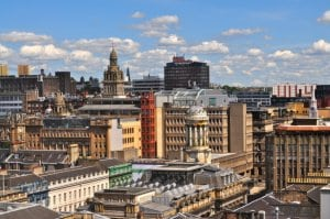 Glasgow City Skyline orașe
