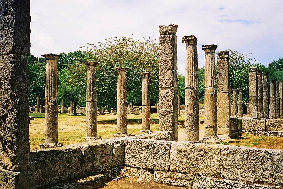 Olympia – unul dintre locurile pitorești din Grecia