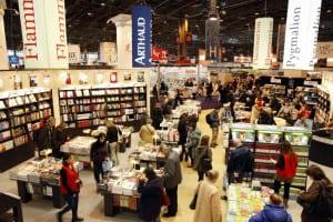Salonul de carte de la Paris