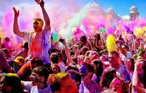 Holi- Festivalul Primăverii
