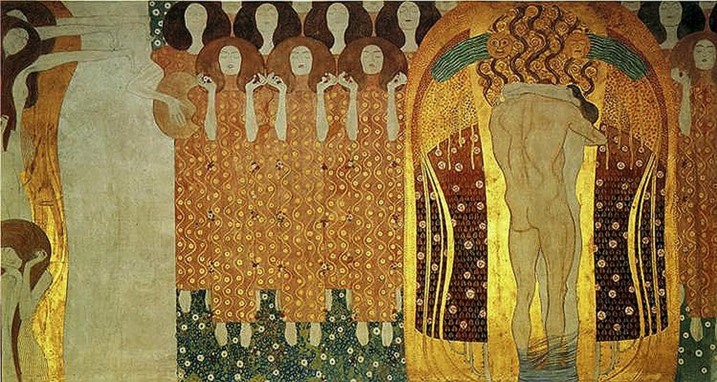 beethoven frieze Klimt
