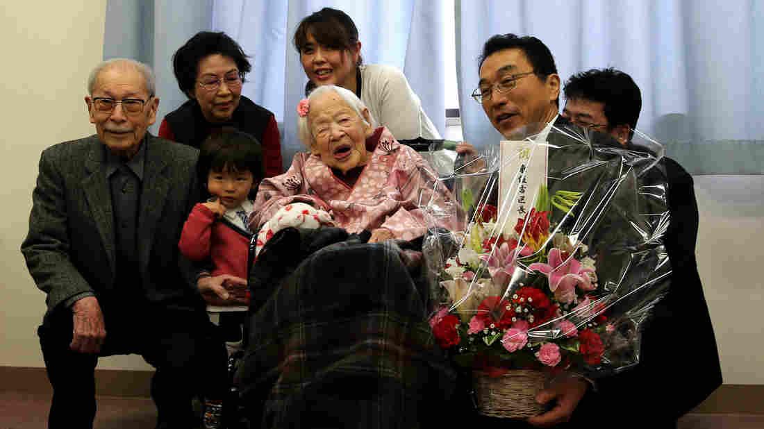 Misao Okawa, l-a împlinirea a 117 ani