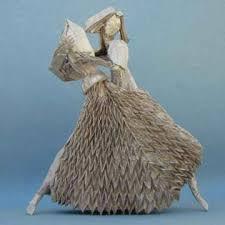 Origami dansatori