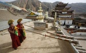 Frescele Mânăstirii Labrang