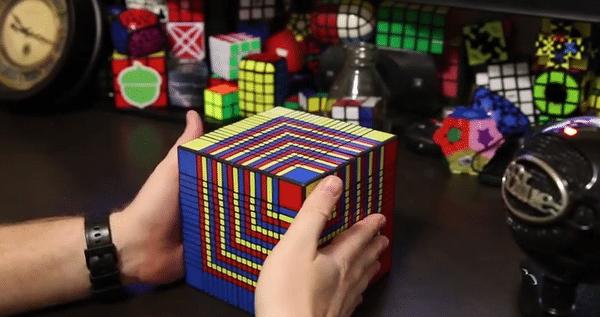 Cel mai complicat cub Rubik din lume, rezolvat. Care este secretul